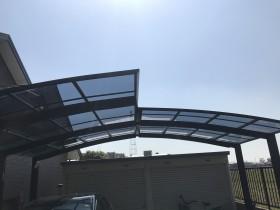 カーポート屋根材交換工事